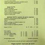 Taverna dell'Oca - MENU - (2di3) CARTA DEL PRANZO
