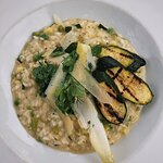 Summer veg risotto