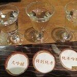 日本酒 3種飲み比べセット