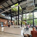 Một góc không gian của 43 Factory Coffee Roaster
