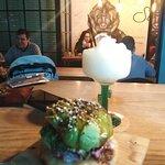 Sushi burguer y Frozen Margarita