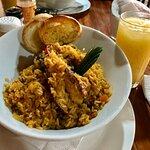 plato de arroz nicaragüense.