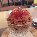 三文魚子海膽杯炒飯