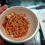 Teriyaky Noodles para llevar - Ración para pajaritos.