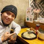 Ito yun! Tsukemen, Kaarage at Coke. My ultimate combo