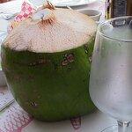 Fresh coconut a delight