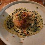 "Roasted Celeriac with Avruga ""caviar""/Chives & Toasted Breadcrumbs"