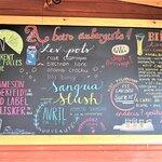 Tableau des bières, A boire Aubergiste!, Valmont bistro Bar