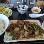 ランチの焼肉定食