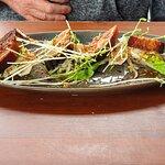 Crisp Western Plains pork belly, Asian flavoured salad of shoots, papaya & herbs, fried shallots