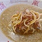 背脂煮干し中華+和え麺