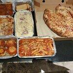 Pizza, Pasta, Meat Balls Spaghetti & Lasagne
