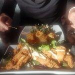Starters - Calamari and deep fried chicken