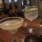 Margarita delicioso y Gin tonic espectacular