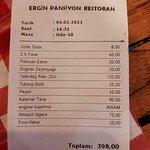 Ergin Pansiyon Restoran resmi