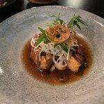 Pork belly - Kakuni with truffle oil
