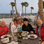 My husband (in red jacket) and I (in white jacket) from St. Louis joined our Florida friends for