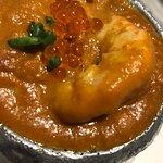 erizo en salsa