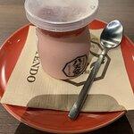 Amaou Cream Pudding