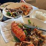 Fantastic fresh crayfish special