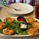 Paula Deen's Fried Green Tomatoes and Sweet Tea