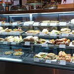 Wonderful selection and great cakes.
