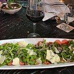 Carpaccio with Arugala salad