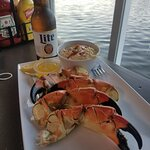 Stone Crabs and Cheesy Grits!