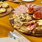 tagliere salumi, formaggio, bruschette