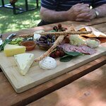 Very tasty cheese platter
