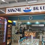 Фотография Sandal Balık Ekmek