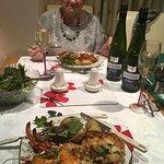 Great meal v.nice wine