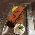 milhojas de chocolate