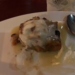 Wicked bread pudding