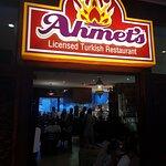 Ahemts signage