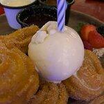Churro dessert