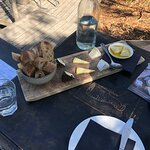 The cheese tasting plate.