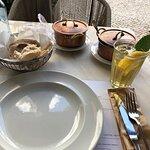 almoço acompanhado de chá aprazível - excelente