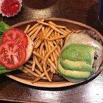 Hambúrguer de abacate