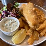 Whiting (?) And Chips