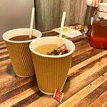 柚子苿莉茶(熱) $14跟餐價 & 越南咖啡(熱) $14跟餐價
