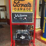 Ford's Garage - Welcome Sign