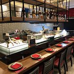 Remodeled sushi bar