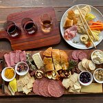 Red wine tasting, adults platter and kids platter