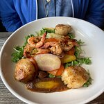Mediterranean shrimp and scallops