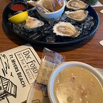 Oyesters and Clam Chowder