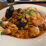 Paella was super fresh and flavorful