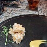 煙燻鯧魚、蟹茶碗蒸、爆玉米花