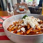 Spaghetti Pomodoro Foto