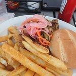 Mojo Pork Sandwich $11
